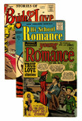 Golden Age (1938-1955):Romance, Romance Comics and Others Group (Various, 1950s-60s) Condition:Average GD.... (Total: 47 Comic Books)