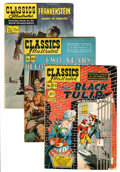 Golden Age (1938-1955):Classics Illustrated, Classics Illustrated Short Box Group (Gilberton, 1950s) Condition:Average GD/VG....