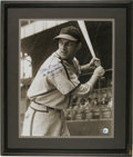 Autographs:Photos, Stan Musial Signed Oversized Photograph. You'd be hard-pressed tofind a portrait of the great Stan Musial that has been co...