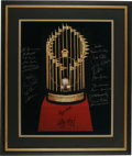 "Autographs:Photos, 1982 St. Louis Cardinals World Champion Team Signed Photograph.Brilliant 16x20"" photograph depicts the prize sought after ..."