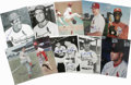 "Autographs:Photos, St. Louis Cardinals Signed Photographs Lot of 100. Exceptionalgroup of 100 8x10"" photos featuring members of the St. Louis..."