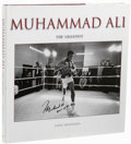 Boxing Collectibles:Autographs, Muhammad Ali Multi-Signed Book. Impressive hardcover copy ofMuhammad Ali The Greatest by John Hennessy is aphotograph...