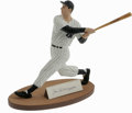 Autographs:Others, Joe DiMaggio Signed Gartlan Statue. The Yankee Clipper's likeness has been cast here by the craftsmen at Gartlan, perhaps t...