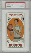 Basketball Cards:Singles (Pre-1970), 1969-70 Topps John Havlicek #20 PSA NM 7. Hondo's desirable entryfrom the oversized 1969-70 Topps basketball issue is pres...