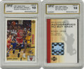 Basketball Collectibles:Others, 1991-92 Upper Deck Signed Michael Jordan Buyback #44. Packaged inthe 2001-02 Upper Deck basketball sets, ten signed Michae...