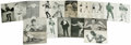 Boxing Cards:General, Boxing Postcards and Exhibits Group Lot of 93. Dating from the1920's through the 1960's this great group of boxing postcard...
