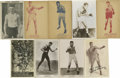 Boxing Collectibles:Memorabilia, Boxing Postcards and Real Photo Postcards Group Lot of 69. Incredible assortment of vintage boxing postcards including sever...