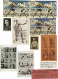 Boxing Cards:General, Jack Dempsey Boxing Related Group Lot. Group includes seven postcards including three from his restaurant, a couple of small...