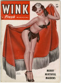 Magazines:Miscellaneous, Wink V3#2 (Wink, Inc., 1947) Condition: VG....