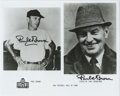 """Football Collectibles:Others, Paul Brown Double Signed Photograph. This 8x10"""" print issued by the Pro Football Hall of Fame in Canton, Ohio sports not on..."""