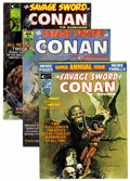 Magazines:Adventure, Savage Sword of Conan Group (Marvel, 1974-80) Condition: Average FN-.... (Total: 21 Comic Books)