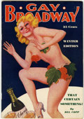 Magazines:Miscellaneous, Gay Broadway V3#10 (D. M. Publishing Co., 1937) Condition: FN....