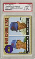 Baseball Cards:Singles (1960-1969), 1968 Topps Nolan Ryan Rookie #177 PSA Mint 9. Far and away the most important and valuable card in the 1968 set is the one ...