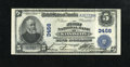 National Bank Notes: , Kansas City, MO - $5 1902 Plain Back Fr. 599 The First NB Ch. #3456. ...