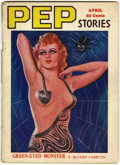 Magazines:Miscellaneous, Pep Stories V7#4 (D. M. Publishing Co., 1937) Condition: GD....