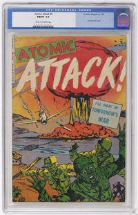 Atomic Attack #5 (Youthful Magazines, 1953) CGC FN/VF 7.0 Cream to off-white pages