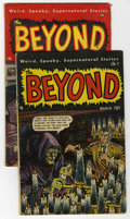 Golden Age (1938-1955):Horror, The Beyond #3 and 4 Group (Ace, 1951) Condition: Average VG....(Total: 2)