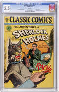 Golden Age (1938-1955):Classics Illustrated, Classic Comics #33 (Gilberton, 1947) CGC FN- 5.5 White pages. ...