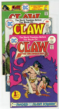 Bronze Age (1970-1979):Miscellaneous, Claw the Unconquered #1-12 Group (DC, 1975-78) Condition: AverageVF.... (Total: 14)