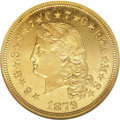 Proof Four Dollar Gold Pieces, 1879 $4 Flowing Hair, Judd-1635, Pollock-1833, R.3, PR66 Cameo NGC. ...