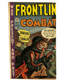 Golden Age (1938-1955):War, Frontline Combat #1 (EC, 1951) Condition: GD....