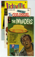Silver Age (1956-1969):Miscellaneous, Gold Key Group (Gold Key, 1967-76) Condition: Average VF. This lot consists of The Invaders #1, 2, 3, 4, The Colossal ... (15 Comic Books)