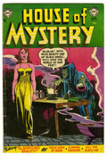 Golden Age (1938-1955):Horror, House of Mystery #24 (DC, 1954) Condition: FN-....