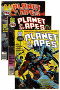 Magazines:Science-Fiction, Planet of the Apes Group (Marvel, 1975-77) Condition: Average FN/VF.... (Total: 14 Comic Books)