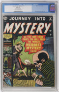Golden Age (1938-1955):Horror, Journey Into Mystery #4 (Marvel, 1952) CGC FN- 5.5 Cream tooff-white pages....