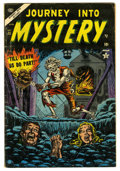 Golden Age (1938-1955):Horror, Journey Into Mystery #15 (Marvel, 1954) Condition: VG-....