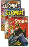 Silver Age (1956-1969):War, War Comics Group (DC/Dell/Charlton, 1958-77) Condition: Average GD/VG. This lot consists of Captain Storm #14, G.I. Co... (40 Comic Books)