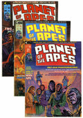 Magazines:Science-Fiction, Planet of the Apes Group (Marvel, 1974-76) Condition: AverageVF-.... (Total: 16 Comic Books)