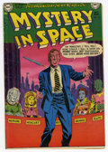 Golden Age (1938-1955):Science Fiction, Mystery in Space #10 (DC, 1952) Condition: VG....