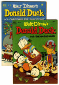 Golden Age (1938-1955):Cartoon Character, Four Color #367 and 422 Donald Duck Group (Dell, 1952).... (Total:2 Comic Books)