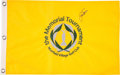 Golf Collectibles:Autographs, Jack Nicklaus Signed Flag....