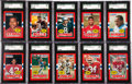 Football Cards:Sets, 1985 Topps USFL High Grade Complete Set (132). ...