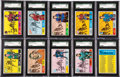 Hockey Cards:Sets, 1968-69 Topps Hockey High End Complete Set (132). ...