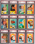 Baseball Cards:Sets, 1960 Topps Baseball Near Set (569/572). ...