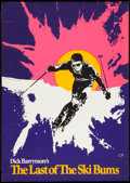 "Movie Posters:Sports, Last of the Ski Bums (U-M Distributors, 1969). Poster (29"" X 41""). Sports.. ..."