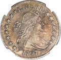 Early Half Dollars, 1797 50C --Improperly Cleaned--NGC Details. AU. O-101a, HighR.4....