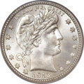 Barber Quarters, 1913-S 25C MS66+ PCGS. CAC....