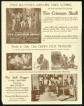 """Movie Posters:Black Films, Norman Film Exhibitor Booklet Lot (Norman, 1922). Booklet (9"""" X12"""") and Heralds (2) (4.5"""" X 7""""). Black Films.. ... (Total: 3Items)"""