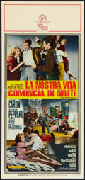 "Movie Posters:Drama, The Subterraneans Lot (MGM, 1960). Italian Locandinas (3) (13"" X27.5""). Drama.. ... (Total: 3 Items)"