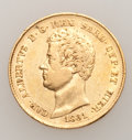 Italy: , Italy: Sardinia. Five-piece 20 Lire gold Lot including:... (Total:5 coins)