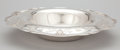 Silver Holloware, American:Bowls, AN AMERICAN SILVER CENTER BOWL WITH DOWN-TURNED RIM . Shreve &Co., San Francisco, California, circa 1900. Marks: SHREVE&...