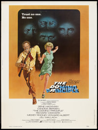 """The Domino Principle Lot (Avco Embassy, 1977). Poster (30"""" X 40"""") and Half Sheet (22"""" X 28""""). Thrill..."""