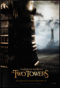 """The Lord of the Rings: The Two Towers (New Line, 2002). One Sheet (27"""" X 40"""") SS Advance. Fantasy"""