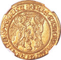 Italy: , Italy: Naples. Carlo I gold Salut d'or ND (1266-1278),...