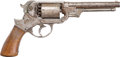Military & Patriotic:Civil War, Early Starr Arms Company M1858 .44 Caliber Percussion Double Action Army Revolver #2488. ...