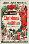 "Movie Posters:Animated, Christmas Jollities (RKO, R-1953). One Sheet (27"" X 41"") Style A. Animated.. ..."
